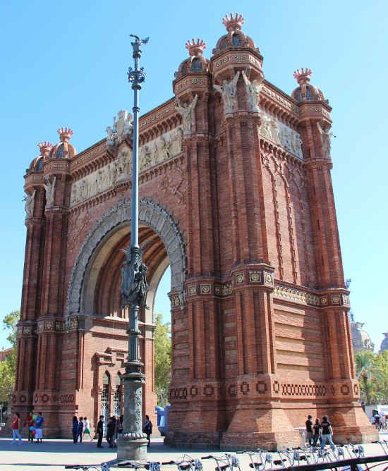 Arc de Triomphe of Barcelona