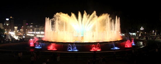 Magic Fountain of Montjuic in Barcelona, Font Magica