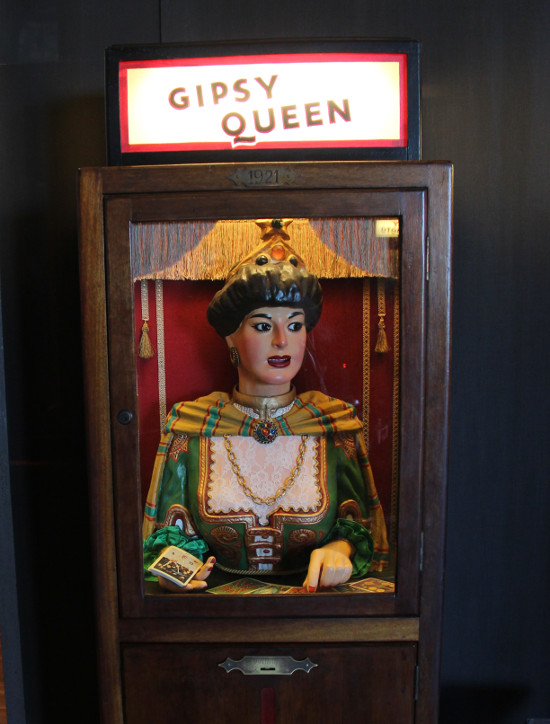 The Gipsy Queen automaton in the Tibidabo Museum