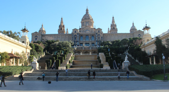 The National Palace MNAC, Montjuic