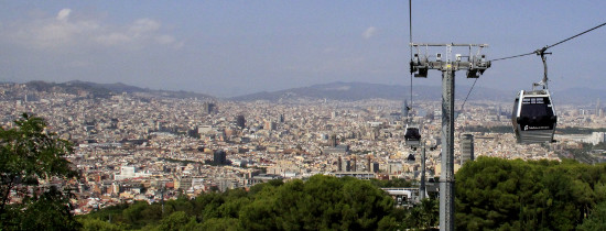 Montjuic Cable Car, Montjuic Park, Barcelona
